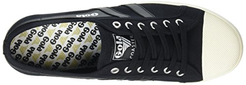 Gola Mens Coaster Fashion Sneaker Black/Black/Off White 748eZiVpVx