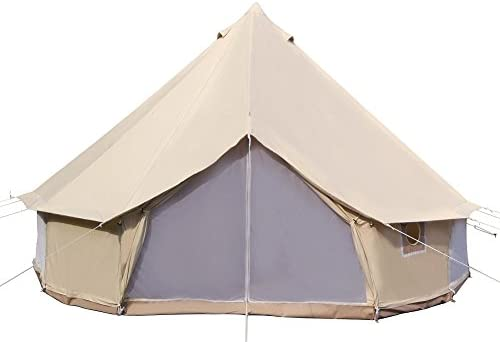 Dream House Diameter 5m Big 4 Season Canvas Cabin Waterproofing C&ing Tents with Stove Jack  sc 1 st  Backcountry Chronicles & Canvas Wall Tent Fabric 101: Types Treatments Strength Shrinkage