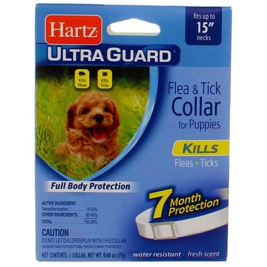 Hartz Flea & Tick Collar 1PK (Pack of 12) by Hartz