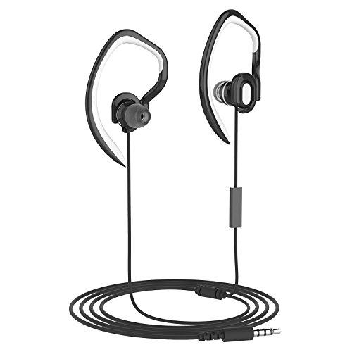 Running Headphones With Detachable Earhook Mucro Extra Light Over