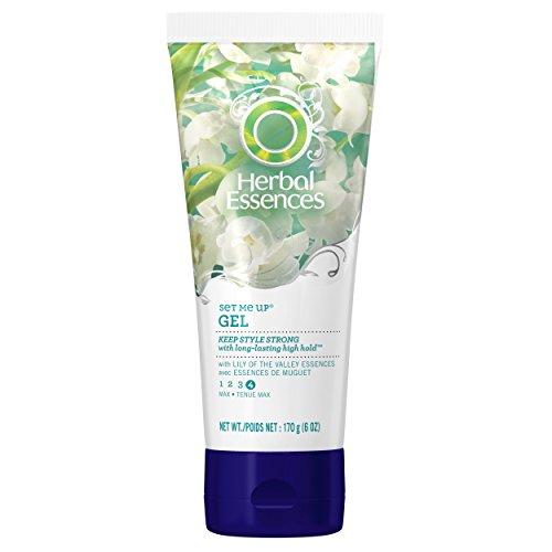 Herbal Essences Set Me Up Max Hold гель для волос 6 унций (3 шт), (комплектация может отличаться)