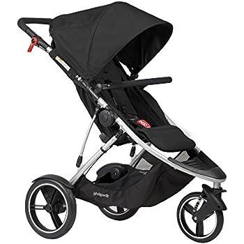 phil&teds Dash Inline Stroller, Black