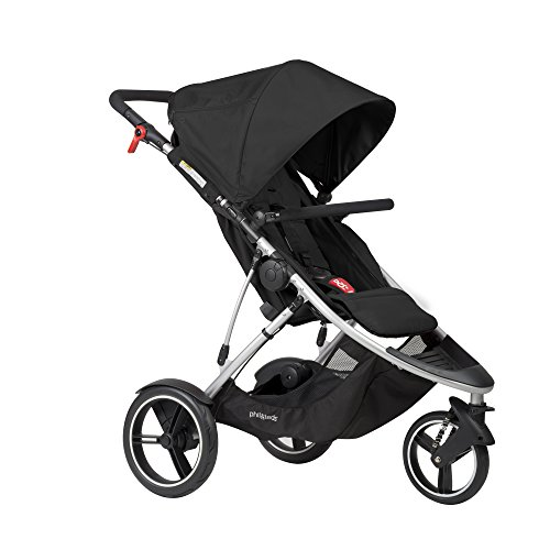 Reversible Single Stroller Liner - phil&teds Dash Inline Stroller, Black