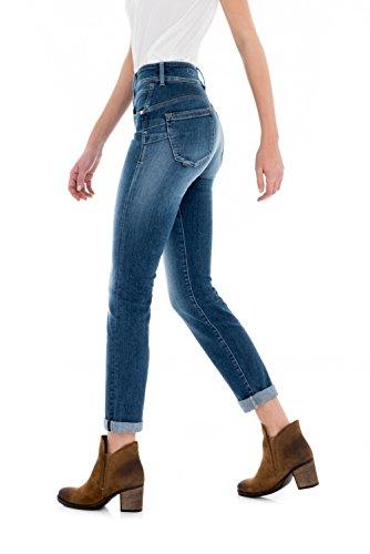 In Salsa 8503 Push Slim Jeans Secret Femme HwWnS7IWq