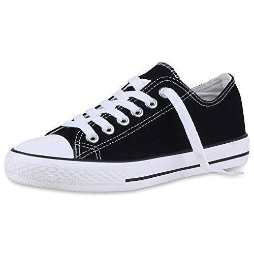 Sneakers Bequeme Schuhe Modell Low Schwarz Basic Unisex 45 36 Viele Freizeit Farben Gr Japado Cut dE8qnppw