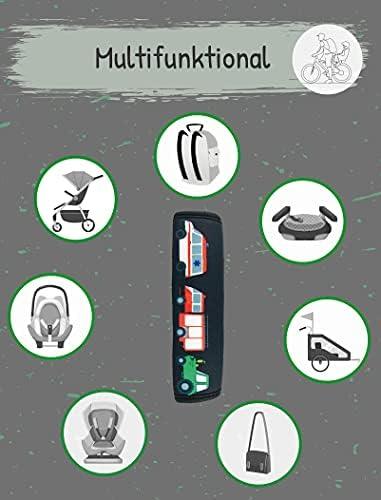 Imbottitura Cintura per Seggiolino Auto Copricintura per Bambini e Bambine Cuscino Protezione contro Irritazioni Spallina Imbottita HECKBO/® 1x Protezione per Cintura di Sicurezza con Topino