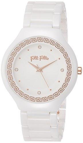 [Folli Follie] follifollie eterna flujo cerámica reloj (blanco) wf16 F021bsw-xx Ladies [Regular importados]: Amazon.es: Relojes