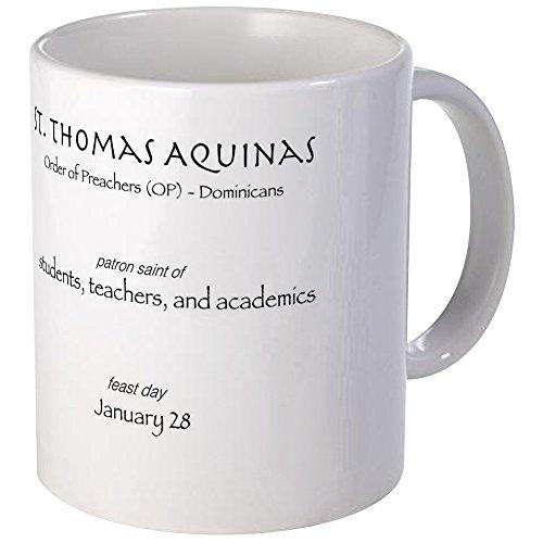 CafePress St. Thomas Aquinas, Patron Saint For St Mug Unique Coffee Mug, Coffee Cup