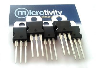 microtivity Pack of 5 LM317 Adjustable Voltage Regulator ICs