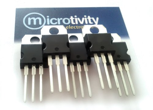 microtivity Pack of 5 7809 +9V Linear Voltage Regulator ICs