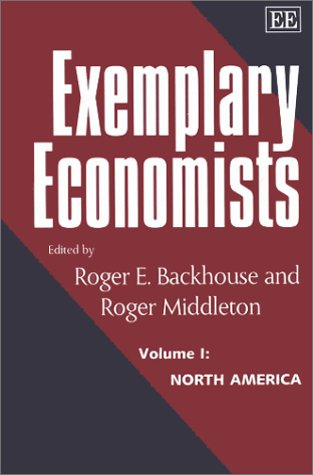 Exemplary Economists: North America (Elgar Monographs) ebook