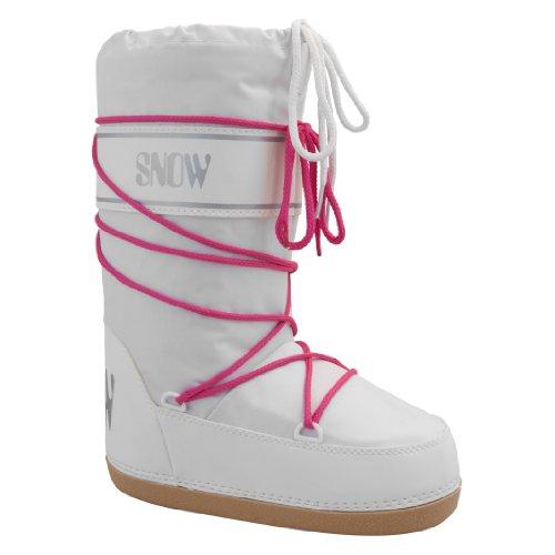 Manbi Space Boot, Mädchen Stiefel & Stiefeletten (White Neon)