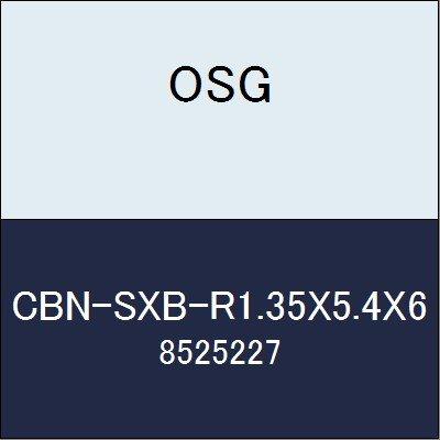 OSG エンドミル CBN-SXB-R1.35X5.4X6 商品番号 8525227