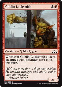 Amazon.com: Magic: The Gathering - Goblin Locksmith (104/259 ...