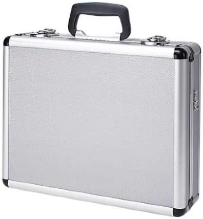 B0037VM5YS T.Z. Case International Pro-Tech 4 Pistol Promo Case, Silver, 16-Inch 41693GZ2G5L