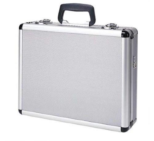 T.Z. Case International Pro-Tech 4 Pistol Promo Case, Silver