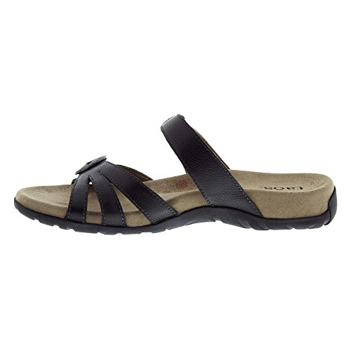 Reward Slide Black Women's Sandal Taos X7xCqwf