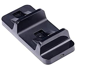 PS4 Dual Charger Ports Charging Station For Sony PlayStation 4 Wireless Controller TP4-002