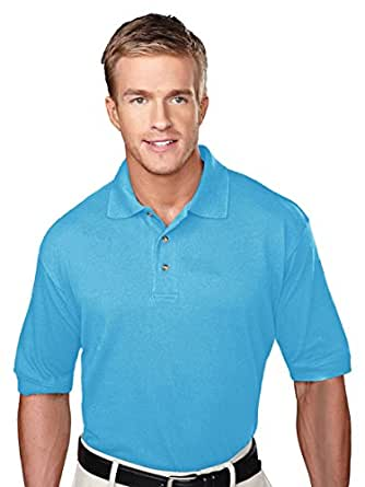 Tri-Mountain Men's 7 oz. 60/40 Cotton-Poly Easy Care Golf Shirt