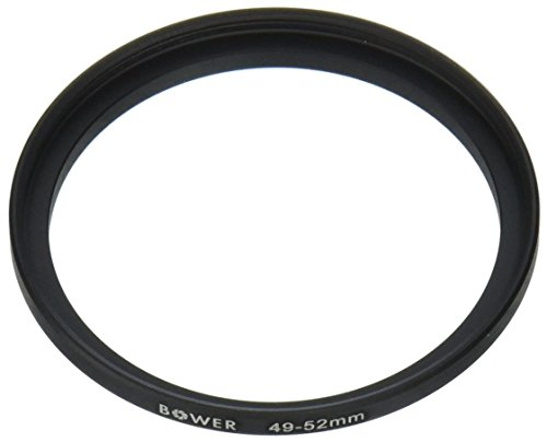 (Adorama Step-Up Adapter Ring 49mm Lens to 52mm Filter Size )