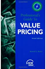 Professional's Guide to Value Pricing w/CD Paperback