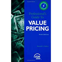 Professional's Guide to Value Pricing w/CD
