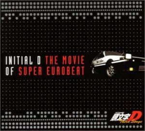 japanimation initial d the movie of super eurobeat