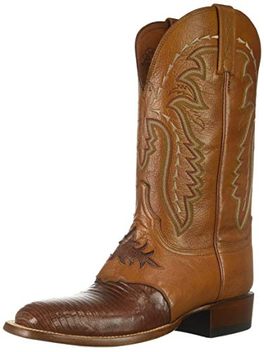 Image of Lucchese Bootmaker Men's Limited Edition Western Boot, Cognac, 11.5 D US