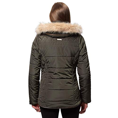 Women's Insulated Winika Dark Water Regatta Repellent Jacket Khaki Hw7B8Oqpx