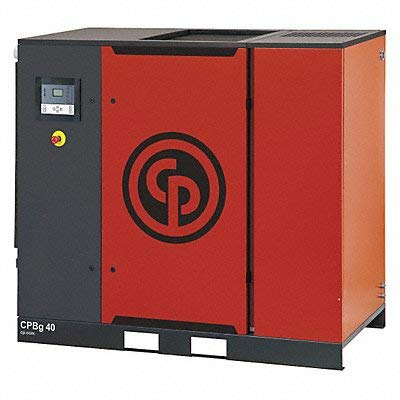 Rotary Screw Air Compressor w/Air Dryer -