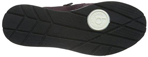 Bugatti J8363pr6n Damen Sneakers Rot (bordo 330)