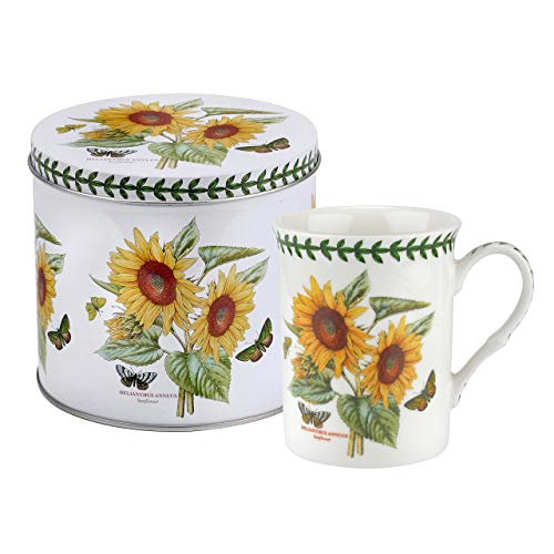 Portmeirion New Sunflower Mug in a tin Botanic Garden ()