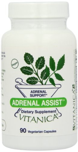 Vitanica Adrenal Assist Capsules, 90-Count