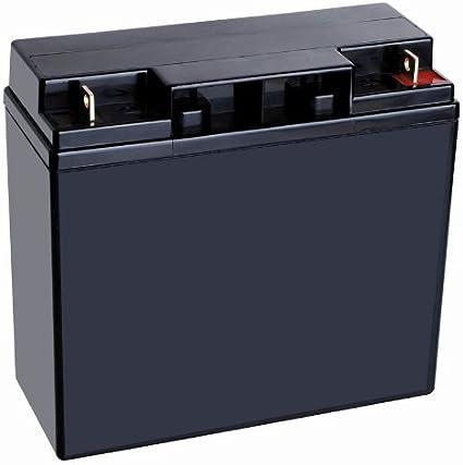 Batería recargable de estanqueidad plomo 12 V 18Ah Ideal para los SAI-grupos de continuidad-paneles fotovoltaicos-Alarma