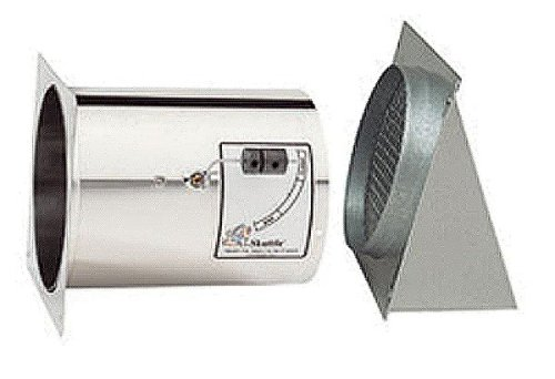 Skuttle 000-0216-001 Make Up Air Control, Stainless Steel, 6 inch Diameter, Fresh Air Intake,