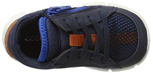 Ecco Baby Jungen Intrinsic Mini Sneaker Blau (Marine/Marine/Bermuda Blue)