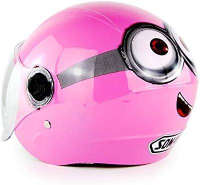 DYM258 Casco de Motocicleta para niños/jóvenes 6 años- 12 años ...