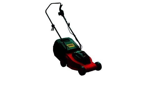Excel cdf05996 cortacésped eléctrico, 1000 W, 32 cm, rojo: Amazon.es ...