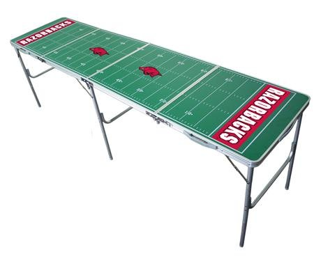 Arkansas Razorbacks 2x8 Tailgate Table by Wild Sports by Wild Sports