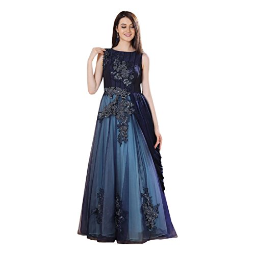 WESTERN COCKTAIL MASSIVE WOMEN LONG DESIGNER GIRL 871 INDO PARTYWEAR CONCEPT CHRISTIAN DRESS FwBTqqdv