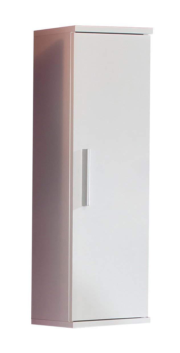 Kesper Badmöbel 2680000004001001 Hängeschrank Monaco, 1 Tür, 78,5 x 25 x 21 cm, weiß