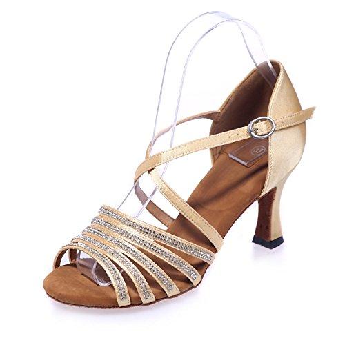 L De YC Chantiers De éTincelantes Peuvent Tatouage Femmes êTre Chaussures Des Danse PersonnaliséS Grands golden Chaussures AAqTnwx0rd