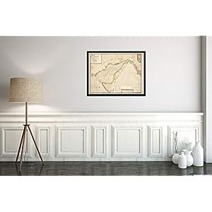 1785 Map|Title: Baye de la Delaware avec les Ports, sondes, Dangers, bancs, c. Depuis les caps jusq