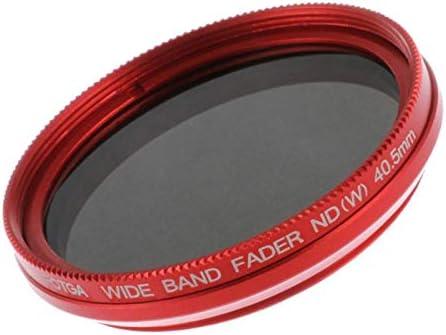 Ultra Slim Optical Glass for Camera Lenses Gazechimp 40.5mm ND Fader Neutral Density Adjustable Variable Filter ND2 to ND400