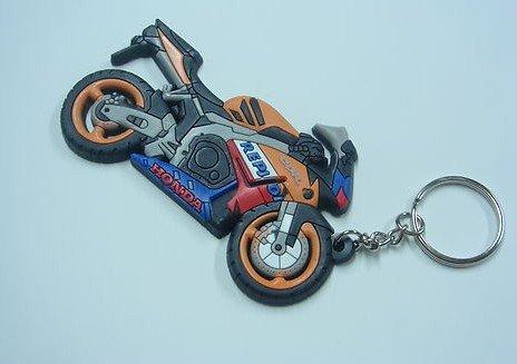 Rubber Key Chain Ring KEY CHAIN MOTORCYCLE Rubber KeyChain HONDA CBR