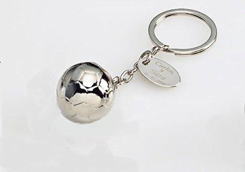 Momparler1870 Llavero balón de fútbol - Pack 20 unidades.: Amazon ...
