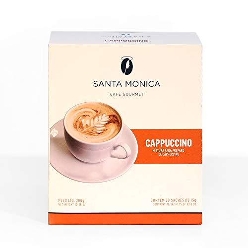Cappuccino Monodose Cafe Santa Monica com 20 Unidades