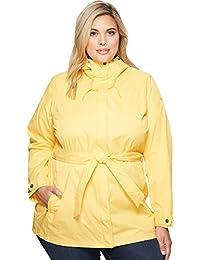 Women's Plus-Size Pardon My Trench Rain Jacket
