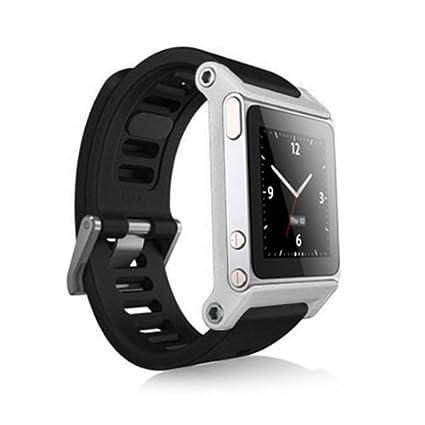 3e755c712c8e4 Amazon.com: Alienwork Pod2Watch Watch Kits for iPod Nano 6 Bracelet ...
