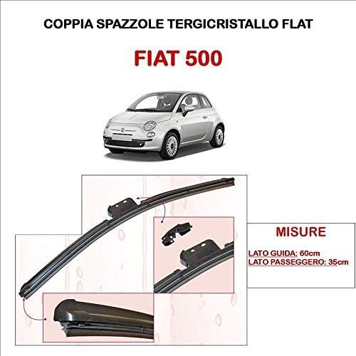SPAZZOLE TERGICRISTALLO ASHIKA TERGI FLAT CODICE FLAT500FIAT